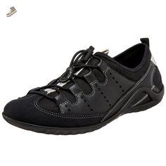 ECCO Women's Vibration II Togel Sneaker,Black/Black,37 EU (US Women's