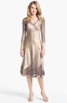 Mother of the Bride Dress - Komarov Textured Satin Dress | Nordstrom