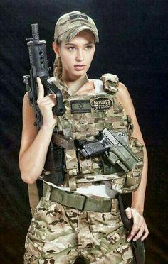 Girl with a Weapon asian women gun thumbnails Military girl . Women in the military . Women with guns . Girls with weapons Idf Women, Military Women, Mädchen In Uniform, Gunslinger Girl, 3d Foto, Female Soldier, Military Girl, Girls Uniforms, Badass Women