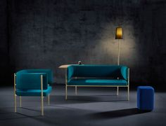 derlot edition releases modular crescent furniture collection