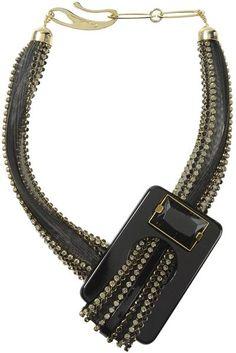 Giorgio Armani Necklace in Black $1390