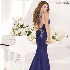 Tarik Ediz Evening Gown