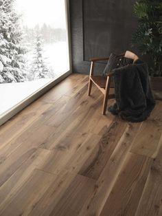 Walnut Wood Floors, Modern Wood Floors, Timber Flooring, Hardwood Floors, Living Room Flooring, Bedroom Flooring, Home Room Design, House Design, Wood Floor Finishes