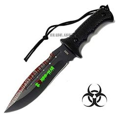 Fixed Blade Hunting Knives, Survival Knife, Bowie, Daily Walk, 31 Days, Zombies, Kindle