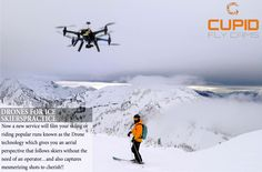 drones for ice skierspractice