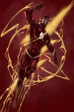 The Flash •Brett Booth
