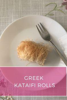 Εύκολη συνταγή για αφράτο, λαχταριστό, ζουμερό κανταΐφι | Ioanna's Notebook Dessert Drinks, Dessert Recipes, Greek Desserts, Easy Meals, Rolls, Blog, Bread Rolls, Easy Dinners, Desert Recipes