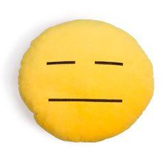 Poker Face Emoji Pillow – Shelfies - Outrageous Clothing