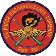 1st Force Recon FMF PAC Patch