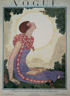 ⍌ Vintage Vogue ⍌ art and illustration for vogue magazine covers - 1925