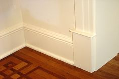 how to clean baseboards and keep them from getting dirty in the first place! genius! White baseboards are my enemy!