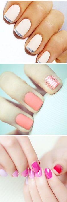 ¡Experimenta con tu #mani! Mira estas originales ideas para que luzcas unas #uñas espectaculares. #Nail #NailArt #NailIdeas