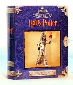 NEW 2000 Hermione Granger Hallmark Harry Potter Keepsake Ornament NRFB in Collectibles, Decorative Collectibles, Decorative Collectible Brands | eBay
