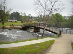 The Bridge over Noccalula Falls in Gadsden Alabama I remember my arrow of light ceremony in the scouts on this bridge!