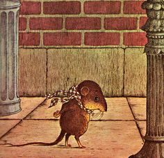 Sylvester - written by Adelaide Holl, illustrated by N. Children's Book Illustration, Illustrations, Childhood Images, Andersen's Fairy Tales, Pet Mice, Animal Magic, Woodland Creatures, Whimsical Art, Cool Artwork