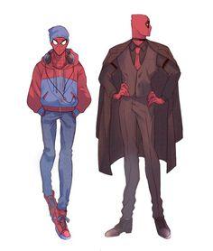 #Spideypool #Spiderman #Deadpool - visit to grab an unforgettable cool 3D Super Hero T-Shirt! - Visit to grab an amazing super hero shirt now on sale!