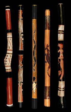 Didgeridoo, Wood Sticks, Painted Sticks, Sticks And Stones, Hand Carved Walking Sticks, Walking Sticks And Canes, Painted Driftwood, Driftwood Crafts, Spirit Sticks