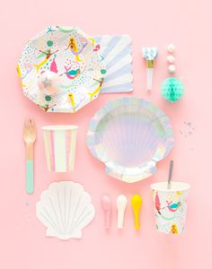 Mermaid party supplies! #kidsparty #summer