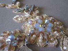 Vintage lace  - detail by Magical Mystery Tuca, via Flickr