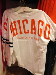 Get your gear now at Pink by Victoria's Secret! Chicago Bears Women, Chicago Bears T Shirts, Chicago Football, Bears Football, Chicago Cubs, Chi Bears, Sport Outfits, Cute Outfits, Bear Girl