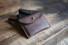 Leather Pouch (via http://www.forestbound.com/collections/utility-pouches/products/elliot-wallet)