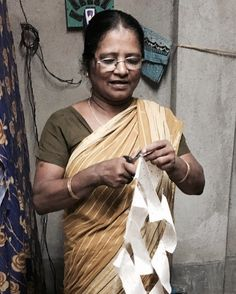 Remember our Flag Joe... This lovely Indian lady is the proud maker! She really gives our Joe a heart and soul. Follow our journey, sign up for the newsletter and read all about our new products www.atelier-sukha.nl