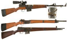 Three French Military Rifles -A) MAS Model 1949-56 Semi-Automatic Sniper Rifle