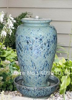 Merveilleux Free Shipping/Ceramic Water Fountain For Garden Decoration/Direct From  Factory In Crafts
