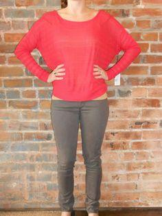 Kerisma sweater & AG stilt jeans available now! http://www.simplyjboutique.com