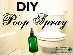 """4 different essential oil blends and recipe to make """"poo-pourri."""" Poop spray eliminates the stink in the air. DIY Poop Spray with Essential Oils Doterra, Essential Oil Blends, Essential Oils, Poop Spray, Bio Oil Scars, Personal Beauty Routine, Face Wrinkles, Aromatherapy Oils, Yl Oils"""