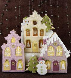 Cookie Houses - Cakes Haute Couture - El Blog de Patricia Arribálzaga: Galletas Navideñas