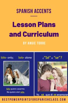 Spanish Accents Lesson Plans and Curriculum Learn To Speak Spanish, Learn Spanish Online, Ap Spanish, Spanish Grammar, Teaching Spanish, Spanish Lesson Plans, Spanish Lessons, Direct Instruction, Guided Practice