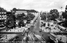 Potsdamer Platz, Berlin. Um 1927.