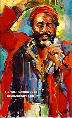 Marvin Gaye - BRUNI Gallery - Marvin Gaye Lithograph