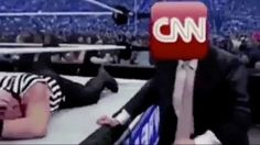 Trump @realDonaldTrump #FNN #DonaldTrump #FraudNewsCNN Tweets Wrestling Video Promoting… #Celebrity #Paparazzi #against #promoting #trump