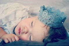 Silver Lace Crown (photography prop) by Chloe Chic Bowtique