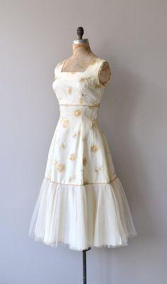 Sublime Illumination dress vintage 1950s dress by DearGolden