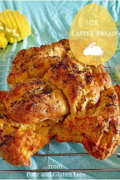 #Gluten free braided Easter (or anytime!) bread. Crusty on the outside, soft on the inside.