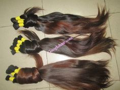 Baby Thin Hair Super Soft and Smooth Natural Human Hair Color Real Hair In vietnam