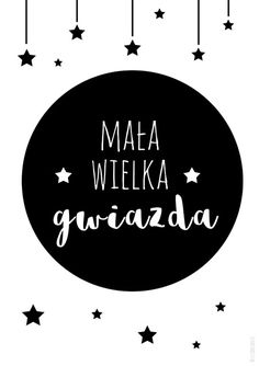 Plakat mała wielka gwiazdka Bohemian Bedroom Design, Daughters Room, Girls World, Kids And Parenting, Girls Bedroom, Photo Booth, Texts, Kids Room, Graphic Design