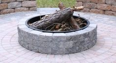 johnson concrete   kits round fire pit Stunning round fire pit review