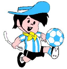 Este fue el icono  del mundial de futbol 1978. History, Culture and Traditions; in keeping with my story http://www.amazon.com/With-Love-The-Argentina-Family/dp/1478205458