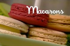 Ricetta Macarons - I menù di Benedetta