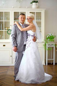 ♥ Noch eine glückliche Braut in einem Schmetterling Brautkleid. Lieben Dank für das Foto! ♥ www.schmetterling-brautkleid.de