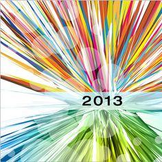 """Cartes de voeux - modèle """"Helium"""" 2013 (impression quadri HD sur papier 350g + pelliculage brillant) © COPY-TOP"""