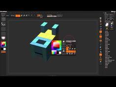 Zbrush Tutorial: ZBrush 4r7 ZModeler Poly QMesh - Part 1