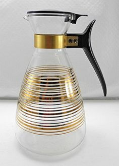 Vintage Pyrex 10 Cup Clear Glass Gold Striped Lidded Carafe #4612 Pyrex http://www.amazon.com/dp/B00QX1RJHC/ref=cm_sw_r_pi_dp_ZtOJub0MX2P62