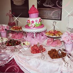 Pink Party Ideas For Girls