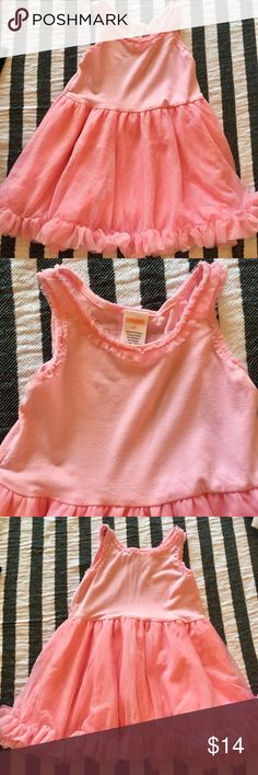 Pink Ruffle Dress 👗 Pink Princess dress by Gymboree. My daughter only wore this twice. It was one of my absolute favorites but she had too much so these beautiful pieces didn't get the love they deserved! Perfect for just a summer day or dress up for a special occasion. 2T. Bundle & save 15%! 💐💓🎀👶🏻👸🏻 Gymboree Dresses