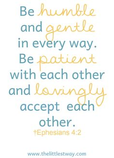 Bible Quotes About Patience • The Littlest Way